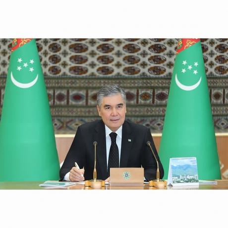 Türkmenistanyň Milli Geňeşiniň Halk Maslahatynyň mejlisi